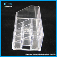 Factory direct OEM clear PS/ acrylic Cosmetics Storage jewelry case