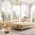 Living Room Wooden Bed Design