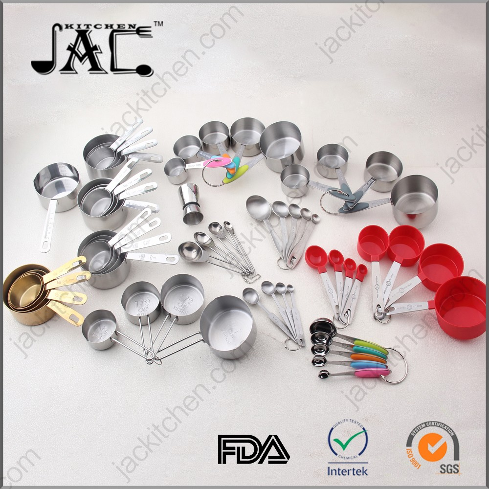 Stainless Steel Measuring Tools Types of Measuring Cup and Spoon