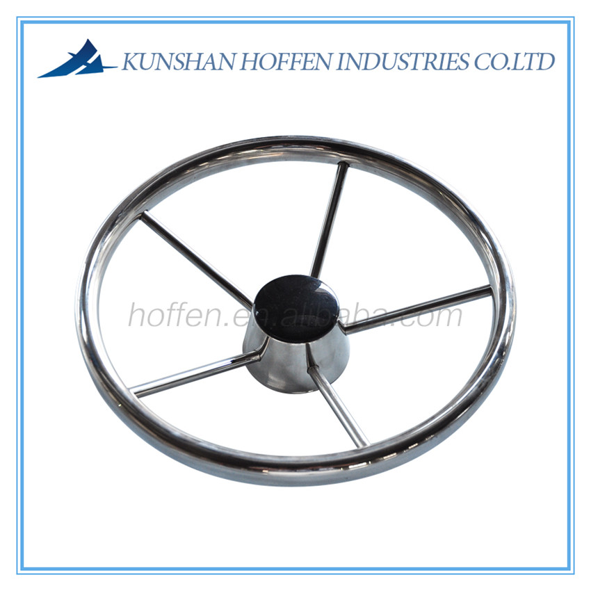 stainless steel steering wheel for marine boats and yacht