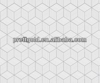 PVC self adhesive film embossed design for glass window 9018