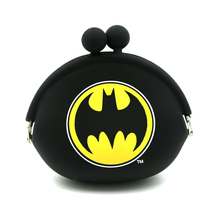 promtional items 2018 silicone rubber change purse coin holder, purse key holder