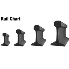 GB Standard steel track rails for mine