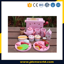 Princess series playways strawberry kitchen wooden toy for girls