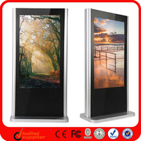 42 Inch Indoor China Wireless Monitor Tv Network Standing Touch Kiosk