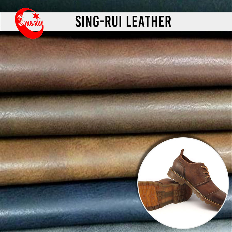 Shoe&Handbag Leather Environmental Protection Synthetic Upper Leather