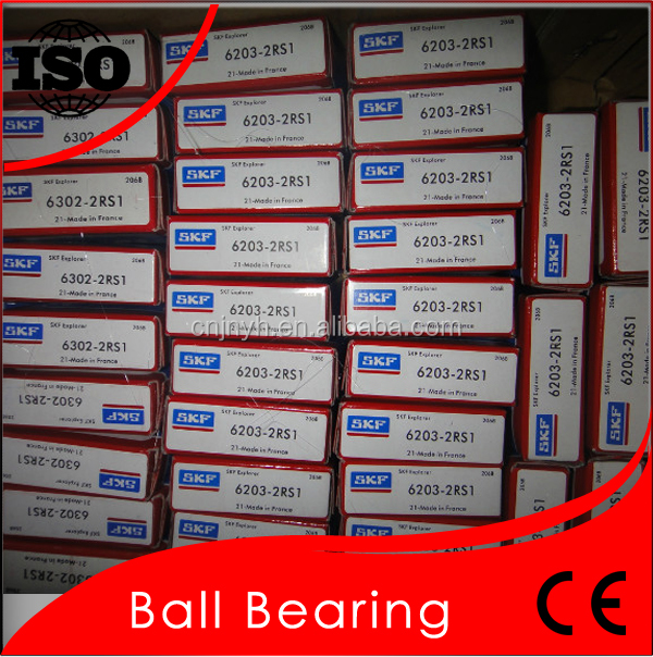 Original SKF Brand Deep Groove Ball Bearing 6203 2RSH ZZ Type Bearings