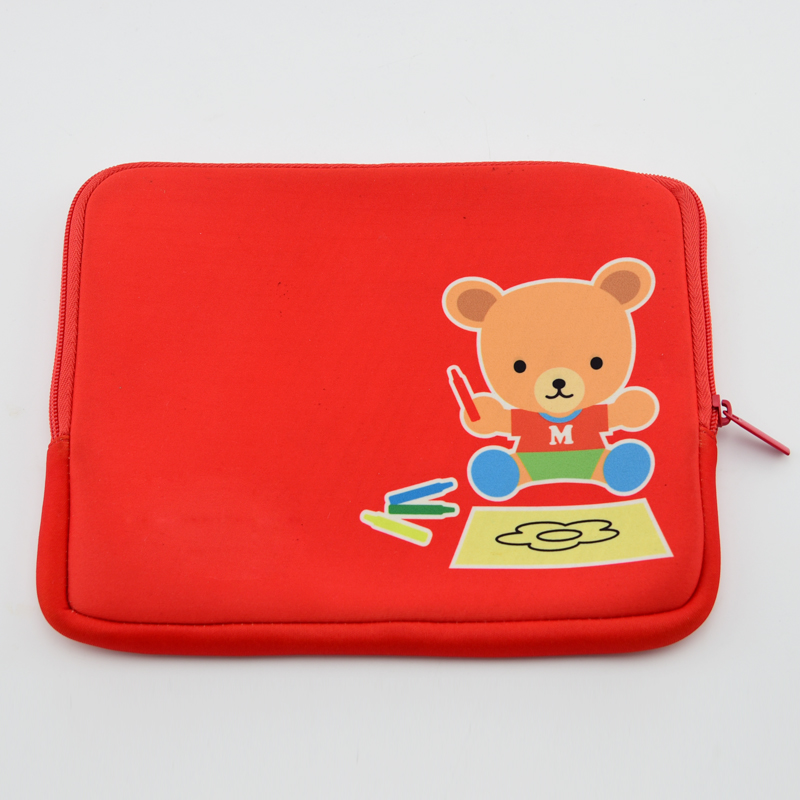 Red Laptop bag Sleeve Case Cover Tablet Bag For Notebook