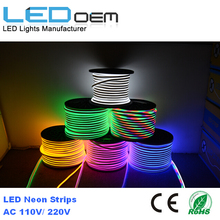 Customized Length RGB LED Neon Tube