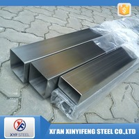 80x80 201 304 316 stainless steel square weled pipe