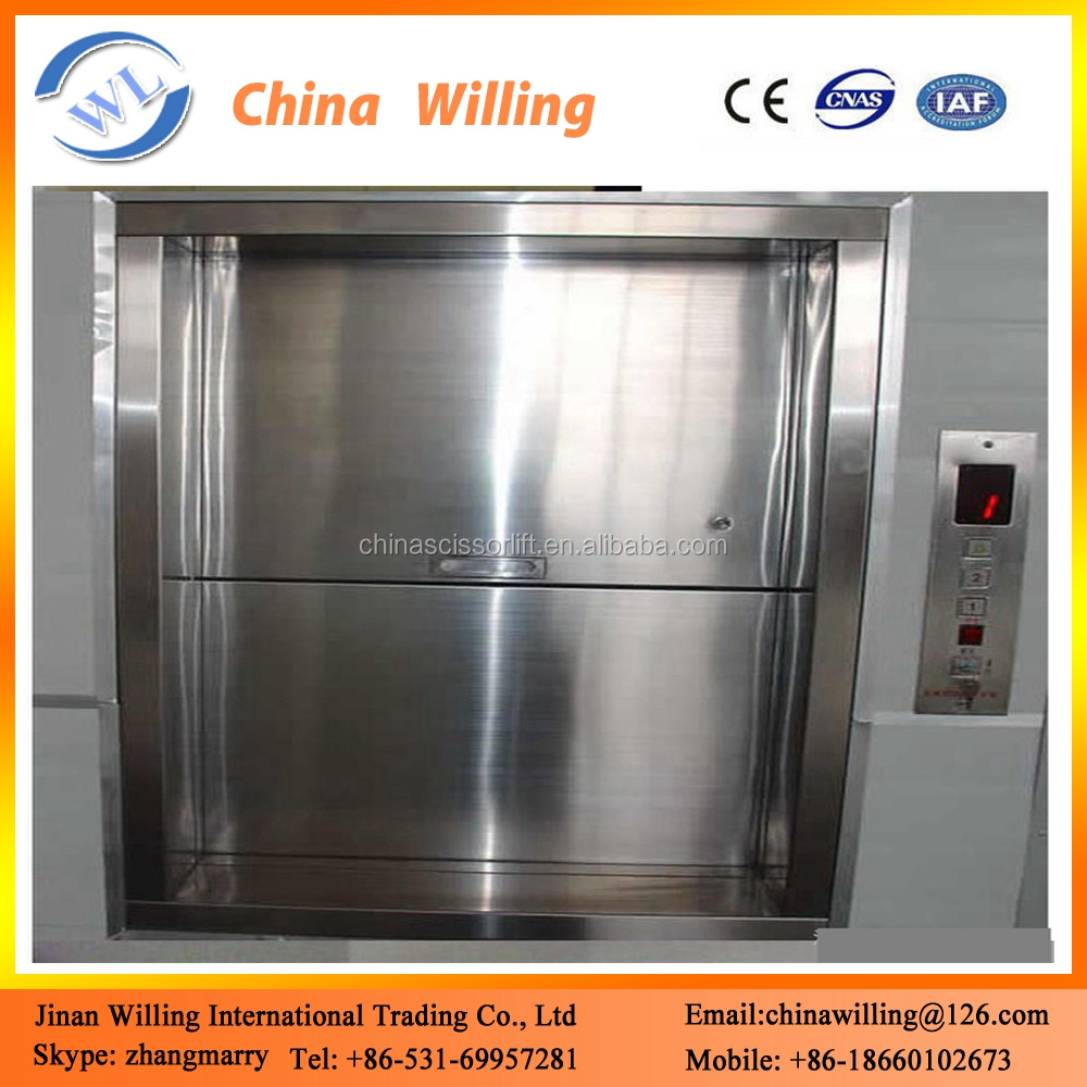 Used home elevators for sale food dumbwaiter food elevator Elevators for sale