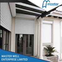 Whole saler wide selection window rolling up shutter with tubular motor