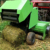 Hot sale corn stalk mini hay baler for sale