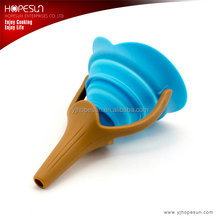 New design multifunction silicone kitchen funnel