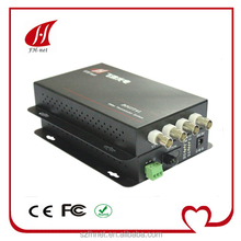 4 channel video converter for CCTV supervisory system rs485 data video converter