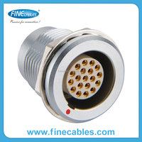 M10 male molded cable connector for push pull,plastic cable connector, IP 65waterproof signal connector
