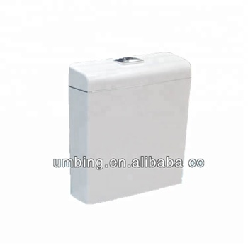 Water-saving plastic toilet water tank dual flush toilet cistern mechanism T6010