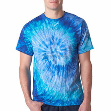 Hot Sale man Basic Style of Tie Dyed Gradient Tee shirts 3d
