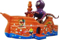 funny inflatable pirate ship, inflatable pirate boat