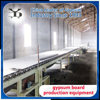 gypsum drywall board making line
