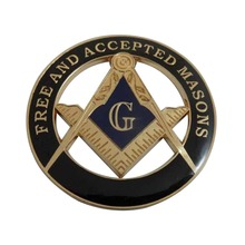wholesale manufacture mason item masonic car emblem