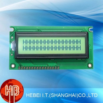 1602 LCM 3.3V/5V Yellow Green 1602 LCD Display Module