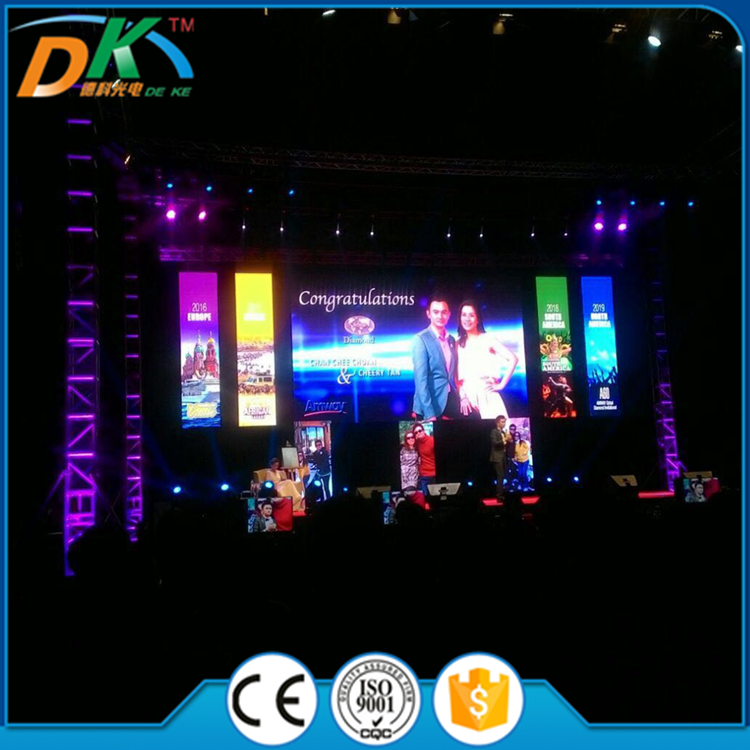 P5 P6 P8 P10 RGB full color Stage portable aluminum LED display screen module price