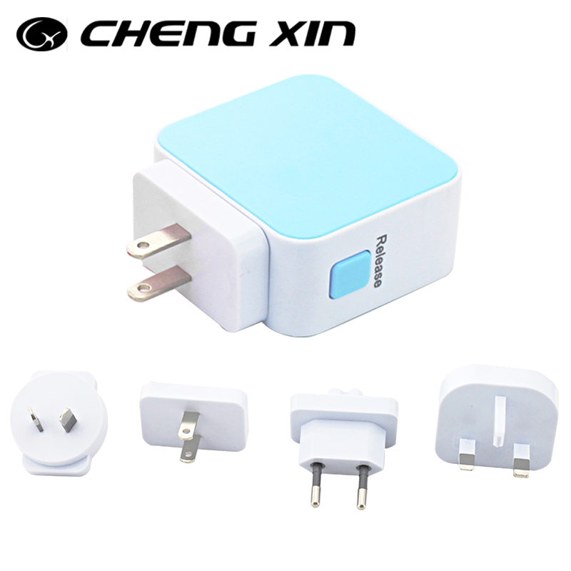 802.11n wifi 150mbps mini homeplug wireless usb powerline adapter for 8600mah portable charger power bank