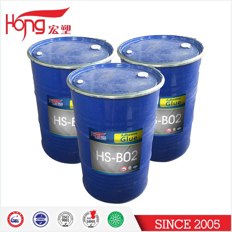 HS-B02 Latex Acrylic Pressure Sensitive Adhesives for Bopp Tape