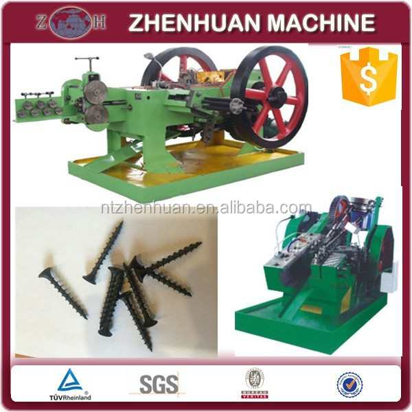 Competitive bolt and screw thread rolling machine|screw making machine