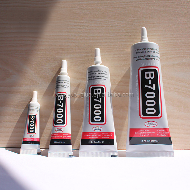B7000 diy Glue 50ml Industrial Strength Super Adhesive Clear Liquid B-7000 Glue Diy Phone Case Crafts Pearls Jewelry Rhinestones
