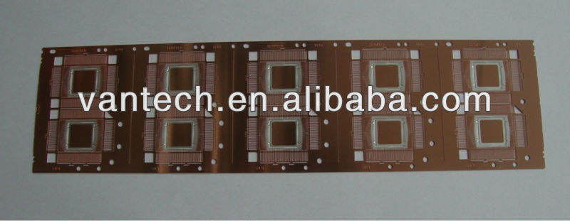 OEM stamping SMD lead frame with Ag spot plating