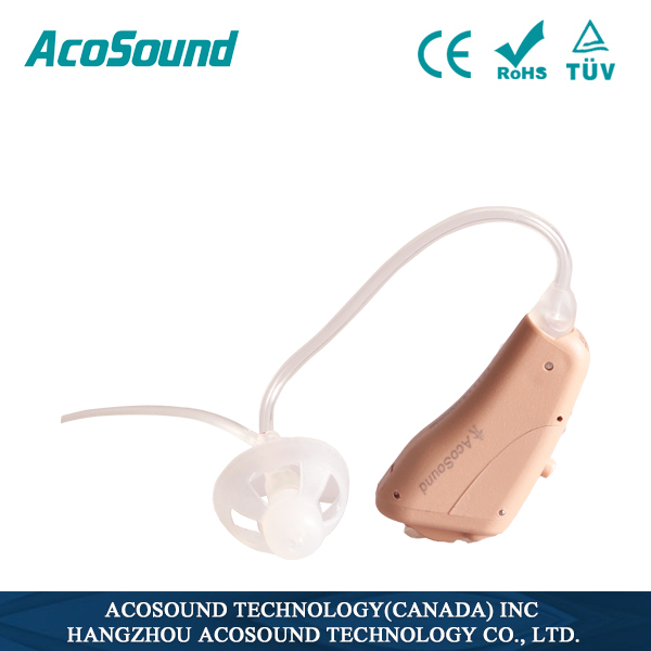 AcoSound Pioneer II 410 open fitting sound amplifier hearing aids