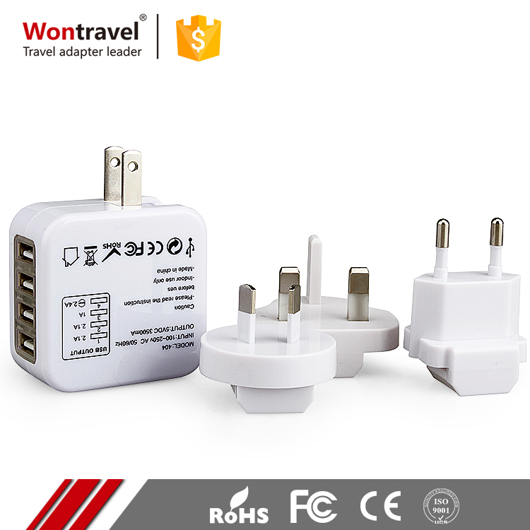 5V 3500mA DC Output Preminum Gifts Outdoor Travel Adapter International Use UK US Universal Adaptor