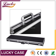 "53"" Long Aluminum Chrome Locking Rifle Gun Case Hard Carry Storage Gun Case with latches"