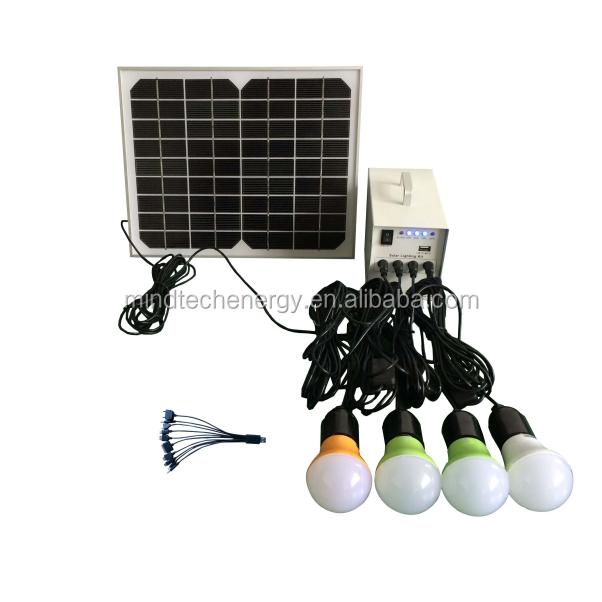 de energia solarsistema de iluminação LED kitsSistemas de energia