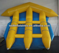 best sale inflatable flying fish towable/ inflatable fly fish boat