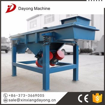 supply high efficiency linear sand and gravel separator machine