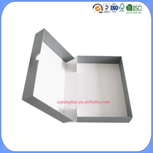 Wholesale retail foldable cardboard clamshell packaging box