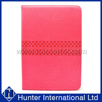 Hot Pink Shiny Leather Universal Tablet Case For 7 Inch