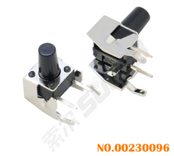 Pcb push button switch 10A rubber tact switch