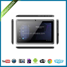 2017 Cheapest Price Q88 7 inch Android Tablet PC , Allwinner A33 , Mini Pad / Tablet PC for Kids