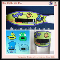 Baby care product Liquid Crystal display baby bottle thermometer