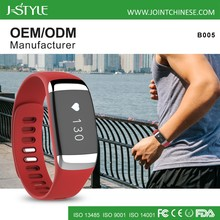 Android IOS touch screen bluetooth pedometer watch with activity tracker sleep monitor heart rate monitor
