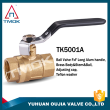 brass body 600 wog with forged and nipple for water nickel-plated union NPT threaded connection cw617n brass ball valve