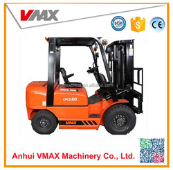 toyota used 2 ton Diesel forklift with penumatic tire and chinese to brand engine for option XINCHAI C490