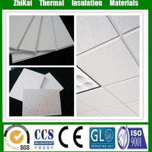 China supplier interior decoration ceiling board/ Mineral fiber acoustic ceiling tiles