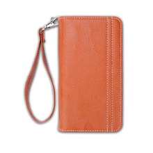 pu /genuine leather sublimation cell phone fancy wallet case for iphone 7