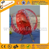 1.2m diameter funny inflatable soccer bubble,bumper ball TB006