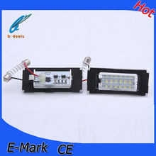 B*M*W MINI R56 LED License plate light LED licence number frame lamp Led Tail License Light